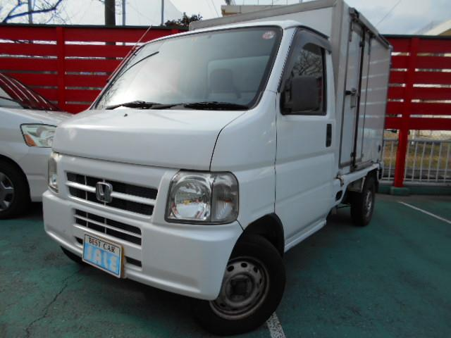 ホンダ -6°冷凍冷蔵車 パワステ 5MT