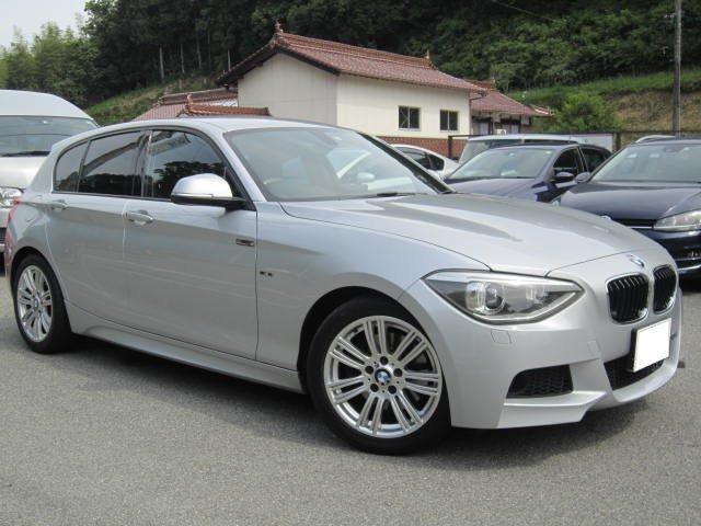BMW 116i Mスポーツ ターボ 8AT iドライブ HDDナビ Bluetooth ETC USB スマートキー ガラスコーティング済 禁煙車