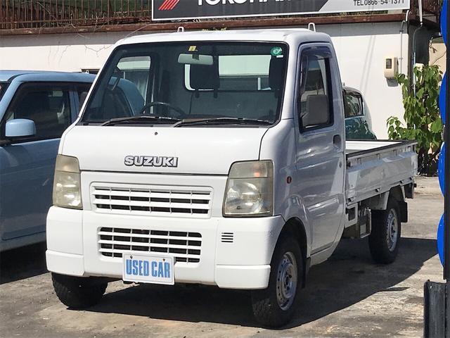 KCエアコン・パワステ 4WD MT 軽トラック 2名乗り 白 パワステ