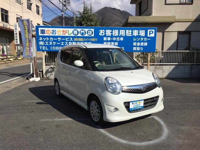 「スズキ」「MRワゴン」「コンパクトカー」「岡山県」の中古車