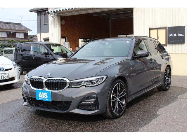 BMW 3シリーズ 320d xDriveツーリング Mスポーツ コンフォートパッケージ インテリジェントセーフティ ステアリングアシスト パーキングアシスト 電動リアテールゲート レザーシート LEDヘッドライト 純正ナビ バックカメラ スマホワイヤレス充電