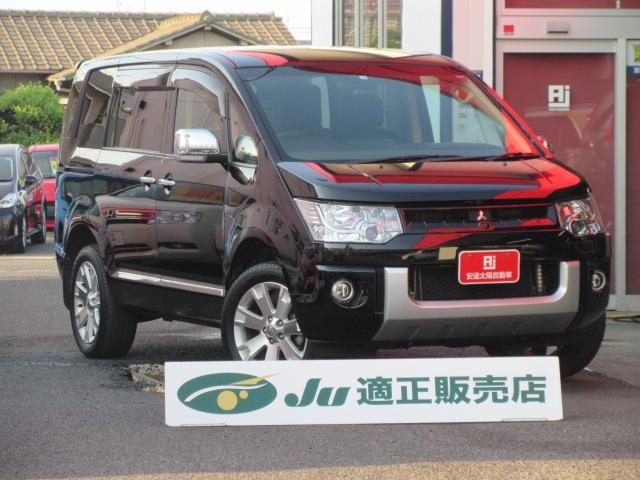 三菱 シャモニー 4WD Wパワスラ フルセグHDDナビ 7人乗