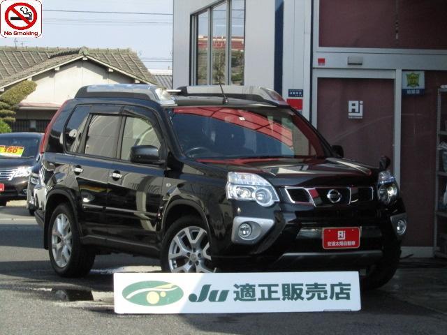 日産 20Xt エクストリーマーX /4WD/ハイパールーフレール/全席シートーヒーター/純正SDナビ/フルセグ/Bluetooth/バックカメラ/オートHID/フォグランプ/スマートキー/純正18AW/後期/禁煙車/自社工場1年保証付