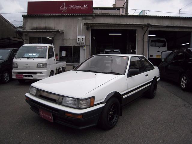 トヨタ GT APEX 5MT ワタナベ14インチ LSD ETC