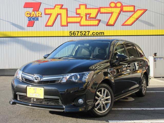 トヨタ 1.5G エアロツアラー・W×B HID ナビ ETC