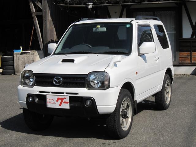マツダ XC 5速4WDターボ 背面タイヤ ETC 16インチアルミ