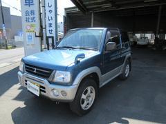 パジェロミニXR 4WD 5MT CD MD キーレス 軽自動車