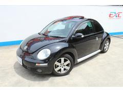VW ニュービートルLZ HDDナビ 黒革 サンルーフ