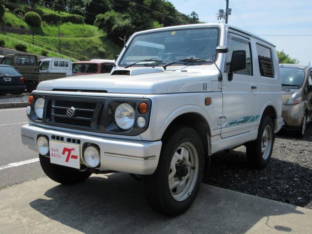 スズキ ジムニー ワイルドウインド 4WD 5MT ターボ フォグランプ 背面タイヤハードカバー