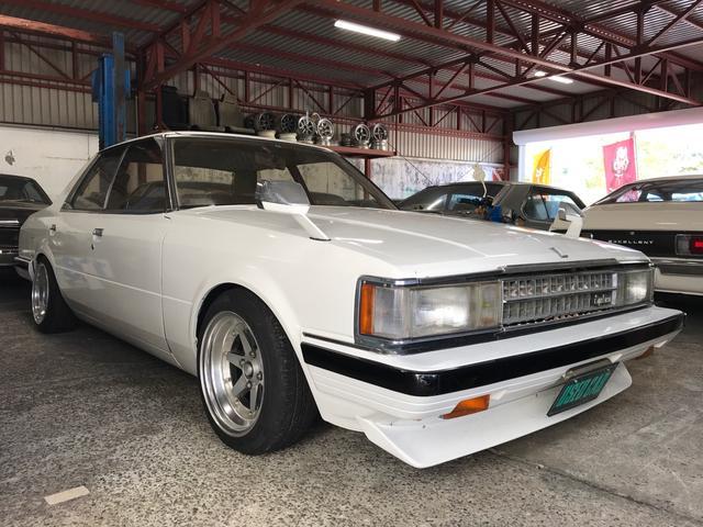 トヨタ クレスタ スーパールーセント 5MT ロンシャンアルミ 社外マフラー ローダウン
