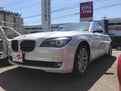 BMW740Li 純正ナビ革シートバックカメラサンルーフETC