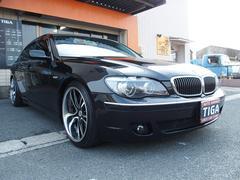 BMW750i 革エアーシート HDDナビ サンルーフ HID