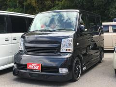 エブリイワゴンPZターボスペシャル 4WD エアロ 社外アルミ