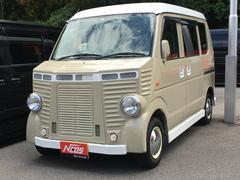 エブリイPA 社外エアロパーツ フレンチバス仕様 革調シートカバー