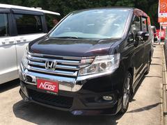 ステップワゴンスパーダS 福祉車両 助手席電動リフトアップシート 純正地デジナビ