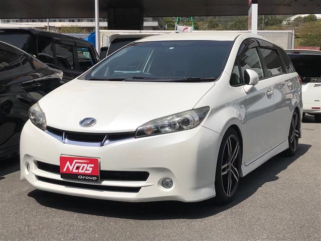トヨタ 1.8S ナビ 社外マフラー ETC 車高調 18インチAW