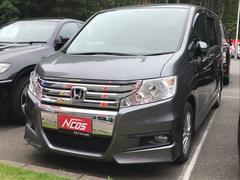 ステップワゴンスパーダS 福祉車輌 助手席電動リフトアップシート 両側電動ドア