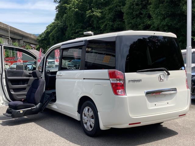 ホンダ ステップワゴン G 助手席リフトアップシート 福祉車両 両側パワースライドドア スマートキー HID オートエアコン 電格ミラー CD プライバシーガラス
