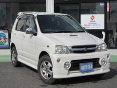 テリオスキッドカスタムX 4WD 5MT CD アルミホイール