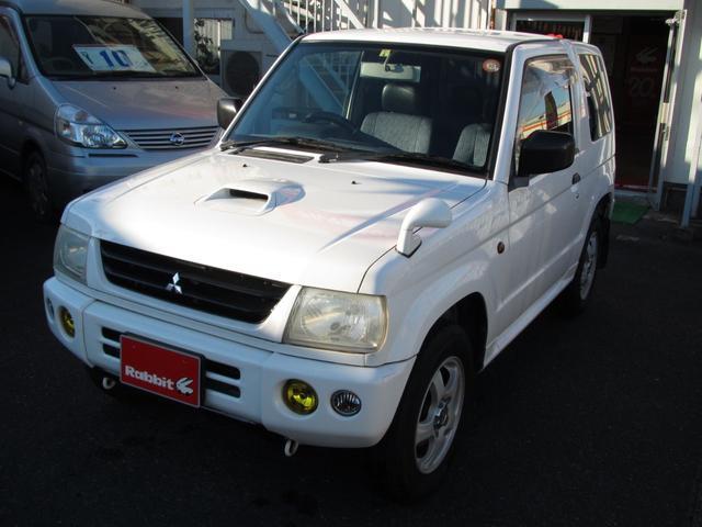 三菱 V 衝突安全ボディ 4WD ターボ 両席エアバッグ付き
