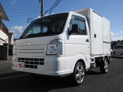 ミニキャブトラック 保冷車 4WD サイドドア 5速MT エアコン パワステ AW