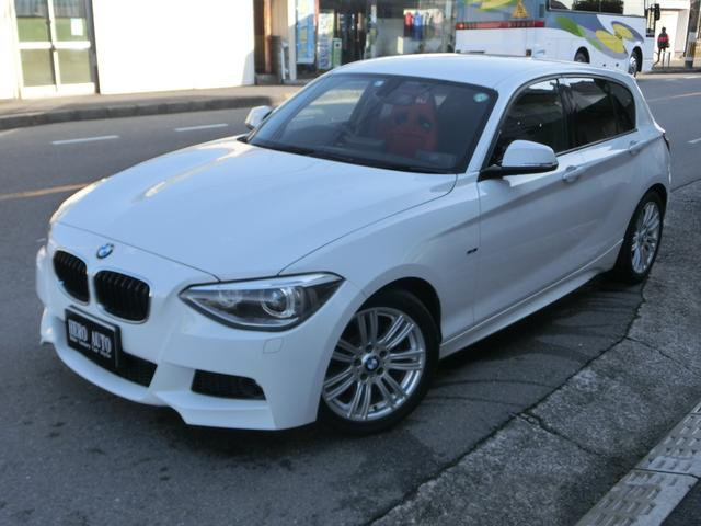 BMW 116i Mスポーツ ナビ DVD再生 RECROシート イグニッションコイル全数交換済 スパークプラグ全数交換済 HIDライト HIDフォグランプ
