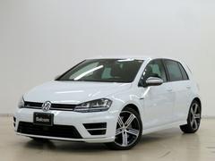 VW ゴルフRフロントアシスト ACC DCC 本革シート 専用18アルミ