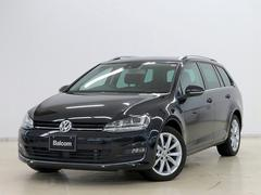 VW ゴルフヴァリアントTSIハイラインBMT ディスカバープロナビ ACC