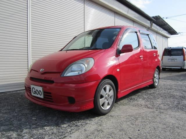 トヨタ ファンカーゴ X フルエアロ ETC (車検整備付)