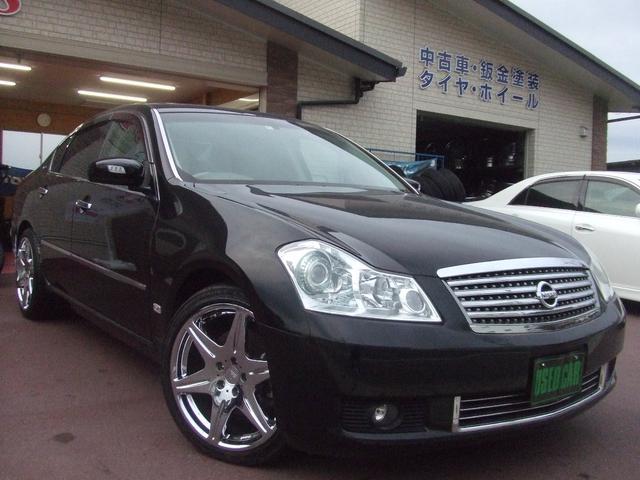 日産 350XV VIP ナビ/Bカメラ/サンルーフ/皮シート