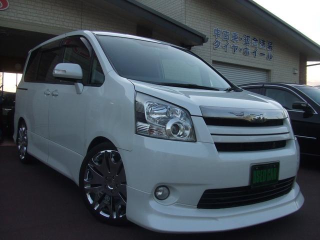 トヨタ S エアロ/ローダウン/HDDナビ/左側電動ドア/19AW