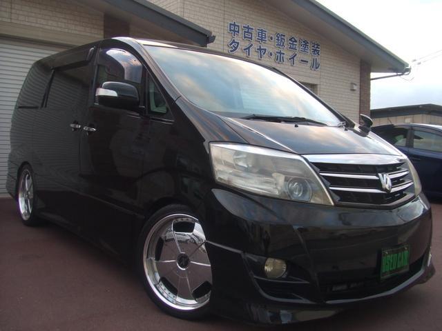 トヨタ ASプラチナセレクション エアロ/車高調/20インチAW
