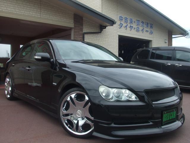 トヨタ 300G Sパッケージ エアロ/テイン車高調/レーベンハートメッキ19インチAW/スーパーチャージャー/限定車/HDDナビ/Bカメラ/ETC/後期モデル