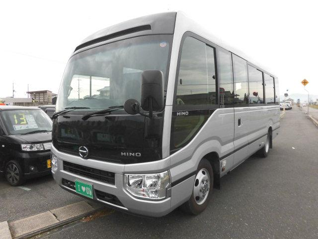 日野 GX マイクロバス 29人乗り 自動ドア ロングボディ