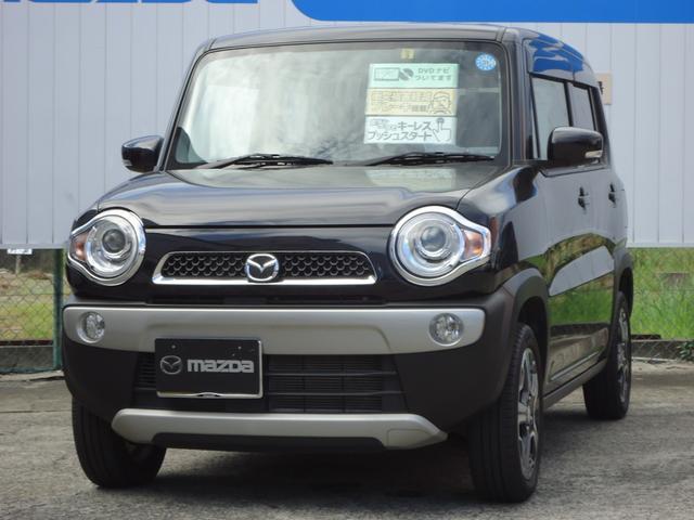 マツダ フレアクロスオーバー XT 4WD ターボ車 ナビ付