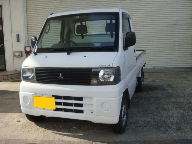 三菱 ベースグレード JA農協 4WD 5MT エアコンパワステ