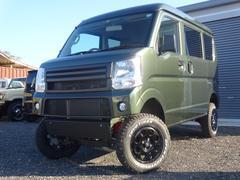 エブリイPC 4WD 4AT オートマ カーキ色 エアコン パワステ パワーウインドウ 切り替え4WD 四駆