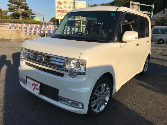 ダイハツ カスタム RS TV ナビ 軽自動車 ホワイト CVT