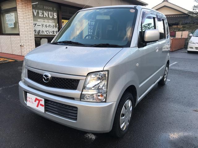マツダ FX 軽自動車 シルバー AT AC 4名乗り オーディオ付