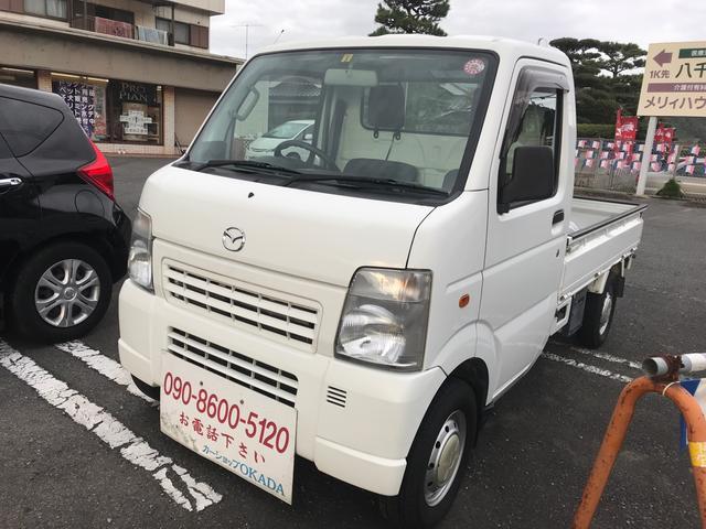 マツダ 4WD AC AT 軽トラック ワンオーナー 2名乗り