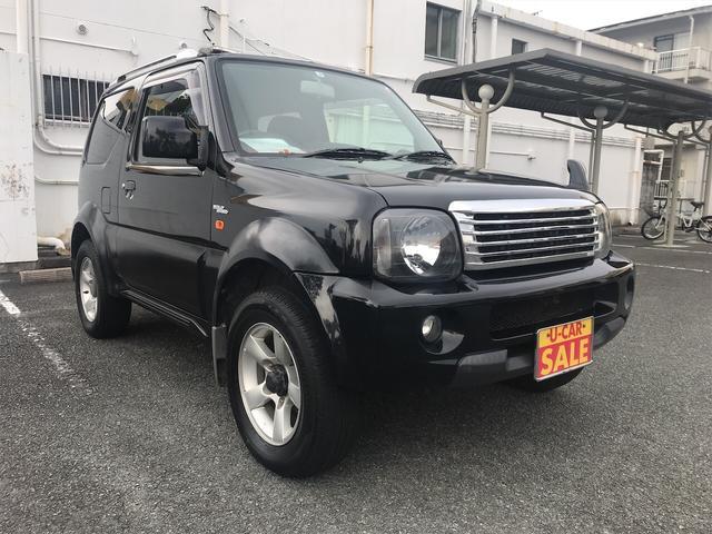 スズキ シエラ 5速M/T 4WD AW ワンオーナー オーディオ付