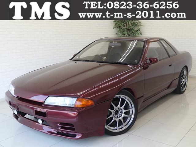 日産 GTS-tタイプM ワーク17インチ社外マフラーローダウン