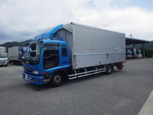 いすゞ  積載2350kg620cmボデーウィング ノークラッチスムーサー