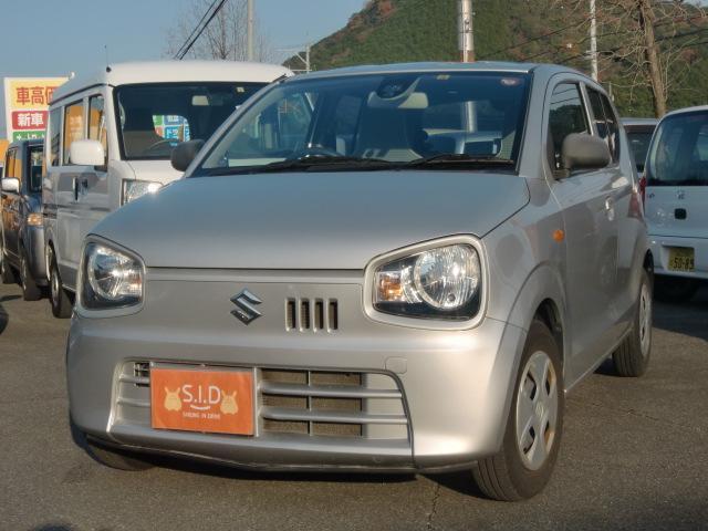 スズキ アルト L レーダーブレーキ装着車 D席シートヒーター ETC