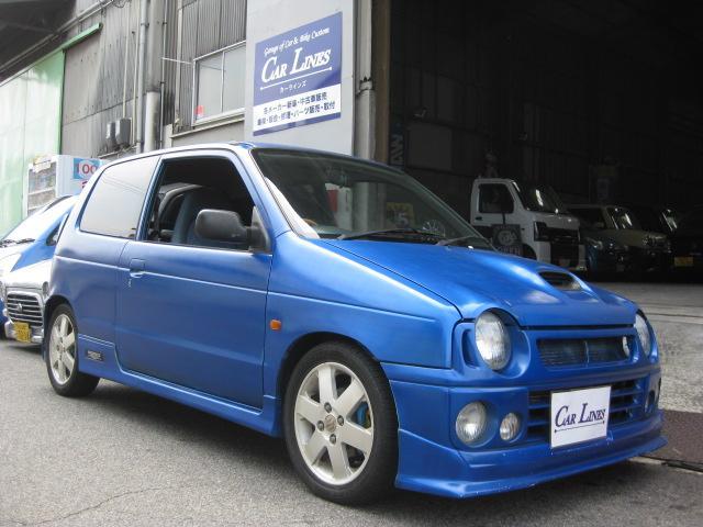 スズキ RS/Z ターボ 5MT ローダウン アルミ CD ETC