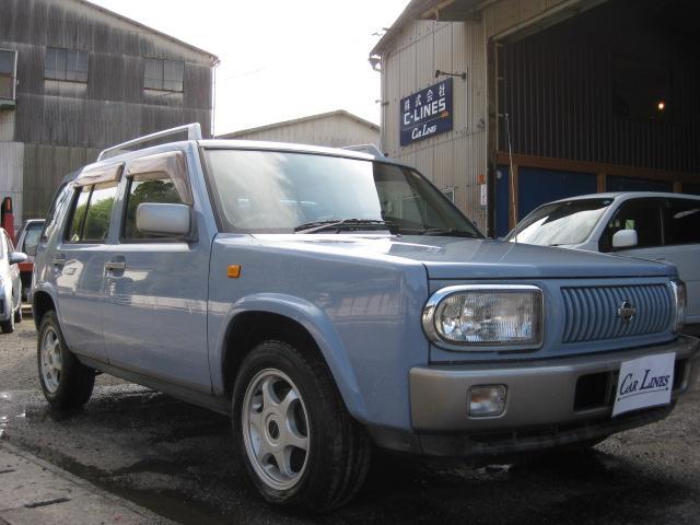 日産 ft タイプII 4WD CD ETC 背面タイヤ FAT