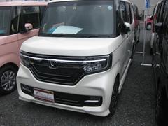 N BOXカスタムG・Lホンダセンシング メーカー保証 禁煙車 LEDライト