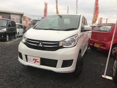 eKワゴンE 軽自動車 ホワイトパール CVT AC