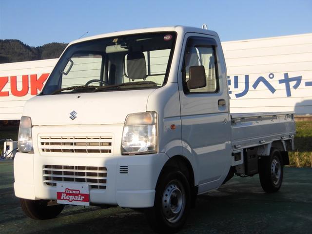 スズキ KCエアコン・パワステ エアコン パワステ エアバック 5MT 2WD ドライブレコーダー ETC ワンオーナー