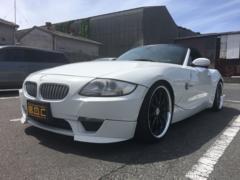 BMW Z4ロードスター3.0si ローダウン HDDナビ 赤革シート